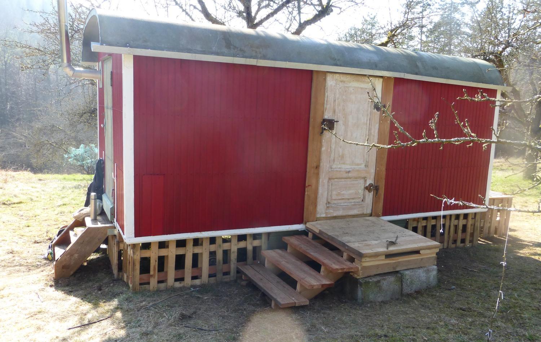 ziele ein neuer bauwagen f r den waldkindergarten. Black Bedroom Furniture Sets. Home Design Ideas